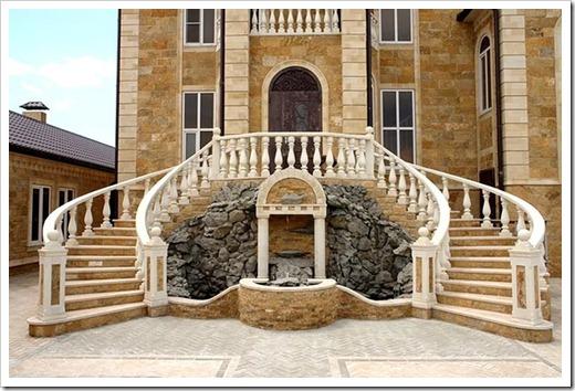 Сложности ухода за каменной лестницей