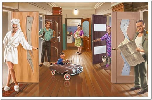 Сдача квартиры в аренду по комнатам
