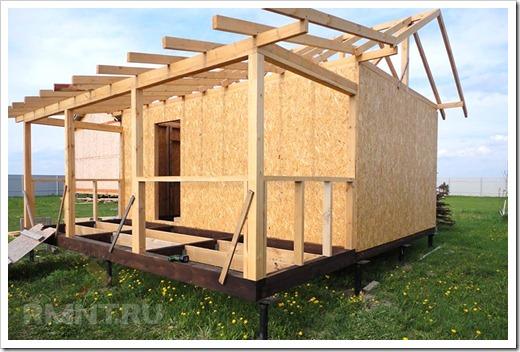 Оптимальный строительный материал для бани