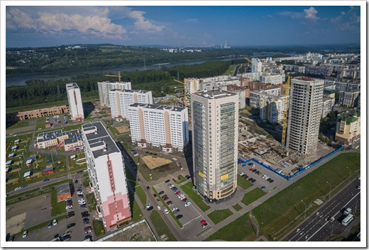 Фактический уровень цен на трёхкомнатные квартиры