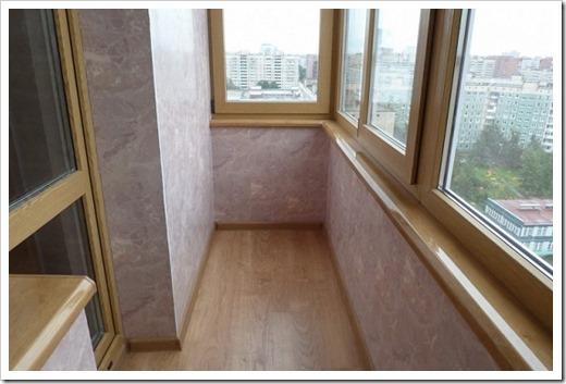 Отделочные материалы для балкона