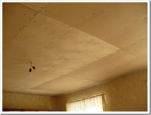 Фанера для отделки потолка