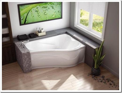 Комбинированные акриловые ванны
