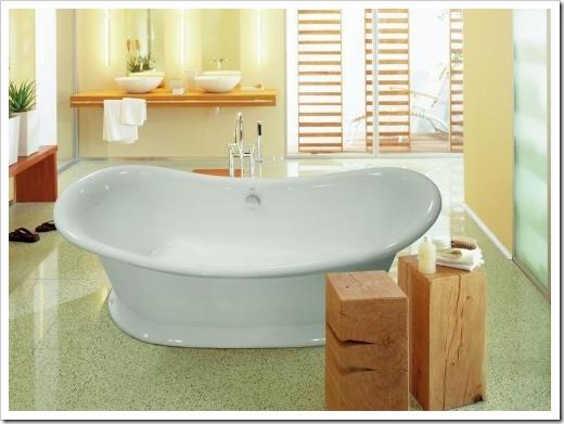 Форма ванны: практичность и эргономика на первом месте