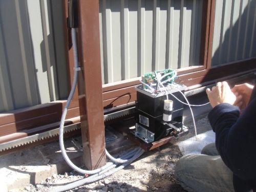 Монтаж электропривода и автоматики на ворота