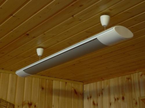 Как выбрать потолочный обогреватель