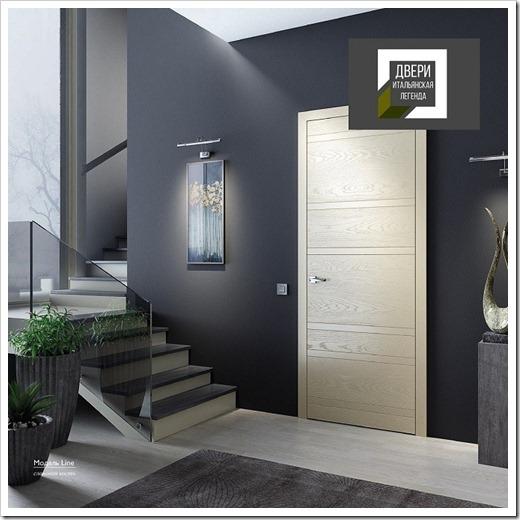 Стеклянные и деревянные двери