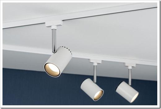 Конструктив светильника на шинопроводе