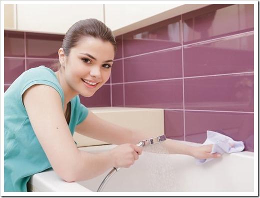 Оптимальный подход по очищению акриловой ванны