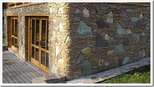 Фасады из натурального камня