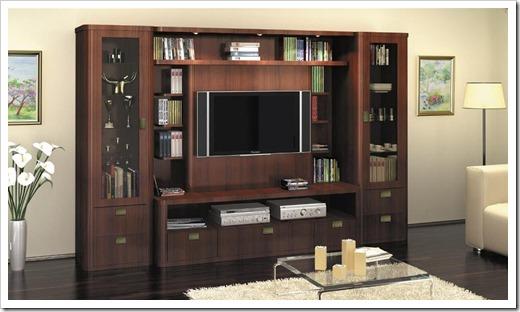 Популярные разновиды мебельных стенок