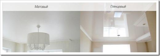 Стоит ли монтировать глянцевый натяжной потолок?