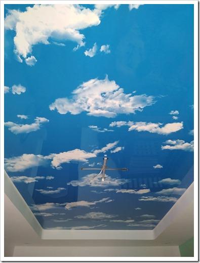 Натяжные потолки в Одессе и Одесской области - небо с облаками фотопечать