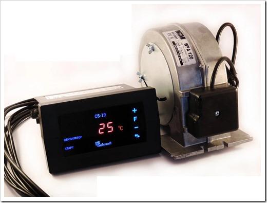 Базовый комплект автоматики отопительного котла с газовым питанием