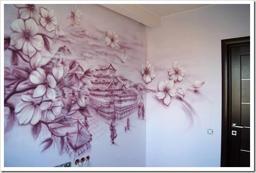 Детализация и площадь стены